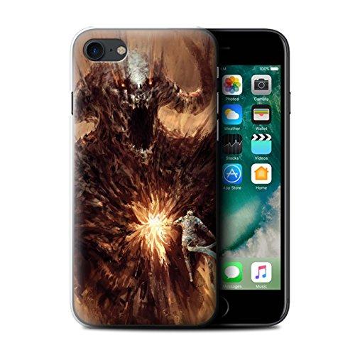 Offiziell Chris Cold Hülle / Case für Apple iPhone 7 / Pack 6pcs Muster / Wilden Kreaturen Kollektion Herzensucher