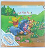 #6: HMI Disney Winnie the Pooh Self Stick Black Mount Photo Album, Japanese Made, Wide, 30 Sheets (Orange)