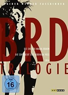 BRD Trilogie- Die Ehe der Maria Braun, Die Sehnsucht der Veronika Voss, Lola [3 DVDs]