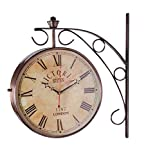 Swagger Copper finish vintage wall clock...