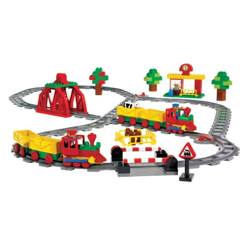 DUPLO Special Set TRENINI E ROTAIE Special Edition GRANDE 129 PEZZI Lego 9212