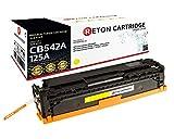 Original Reton Toner, kompatibel, Gelb für HP CM1312mfp (CB542A), HP 125A, Color Laserjet, CP1515, CP1515N, CP1515NI, CP1518, CP1518NI, CP1312, CP1312MFP, CP1512, CP1512MFP, Gelb