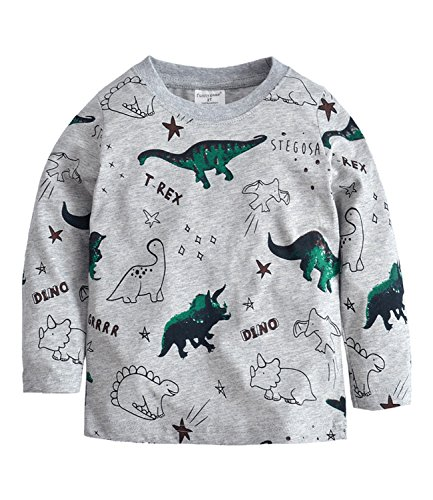 d0cef7df6b38 COCM10 Baby Boys Jacket Coats Kids Dinosaur Coral Fleece Hoodies ...