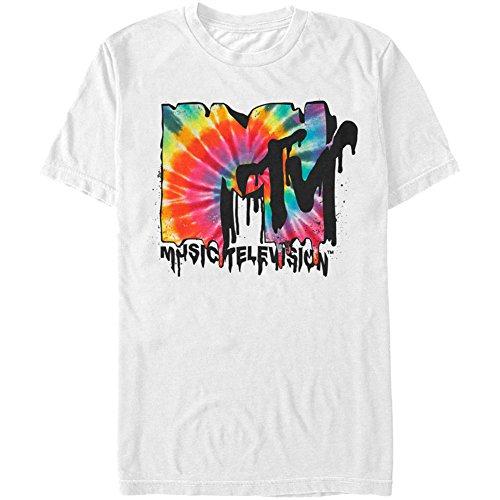 Treask MTV Men's Melted Mtv T-shirt White