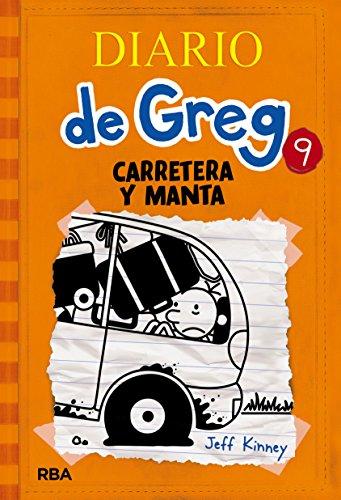 Diario de Greg 9. Carretera y manta por Jeff Kinney