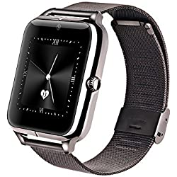 m-fit Smart Watch With Camera and Sim Card Support With Apps like Facebook and WhatsApp For All 3G & 4G Android/IOS Smartphones (Color May Vary)
