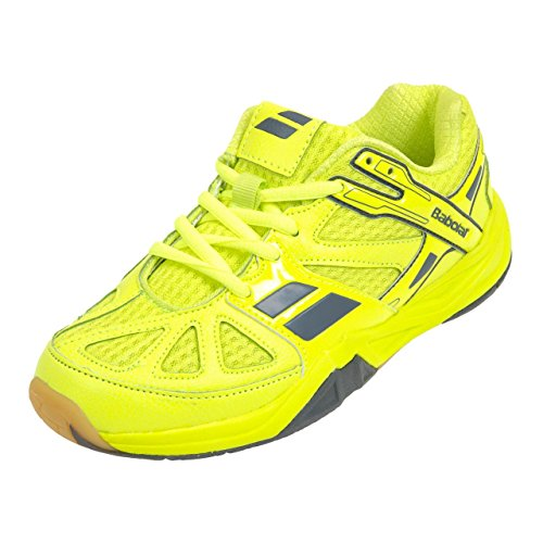 Babolat - Shadow first jr jaune - Chaussures de badminton - Jaune fluorescent - Taille 39