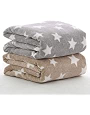 BRANDONN All Season Hooded Ultra Blanket for Babies Dotts W