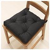 IKEA MALINDA Stuhl Kissen,, schwarz, 15