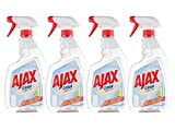 Ajax Nettoyant Ménager Spray Vitre Cristal 750 ml - Lot de 4