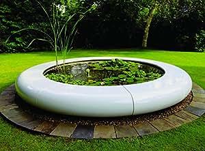 Garden Water Features - Contemporary Aqua Orb Fibreglass Fountain