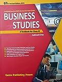 BUSINESS STUDIES A TEXTBOOK FOR CLASS-XI