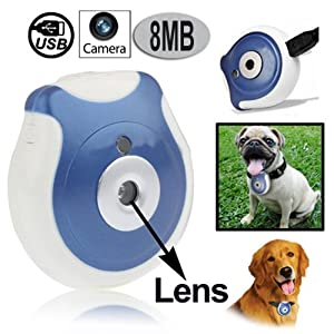 Pet's Eye View Camera with Auto-interval setting for Dogs or Cats with Clip DC30A by DC30A