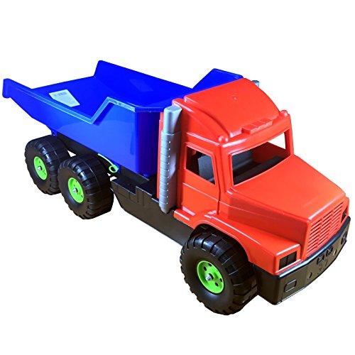 Kipplaster LKW Dumper - hochwertiges Kinderspielzeug aus robustem Kunststoff - ein Gigant für den Sandkasten - egal ob Weihnachten Ostern oder Geburtstag - hier haben sie immer das richtige Geschenk - Für Sie Hier Immer