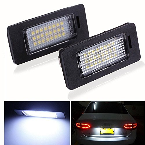 2x-LED-Kennzeichenbeleuchtung-Kennzeichen-Licht