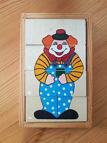 FidgetGear Holzspielzeug Clown - Lernspiel zeug - Motorikspielzeug as picture show One