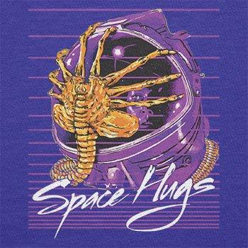 NERDO - Space Hugs - Herren Langarm T-Shirt Marine