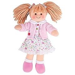 Idea Regalo - Bigjigs Toys Poppy 28cm Bambola