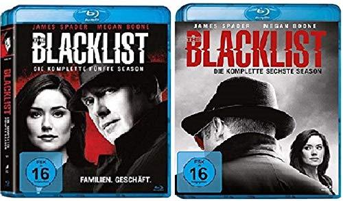 The Blacklist Staffel 5+6 [Blu-ray Set]