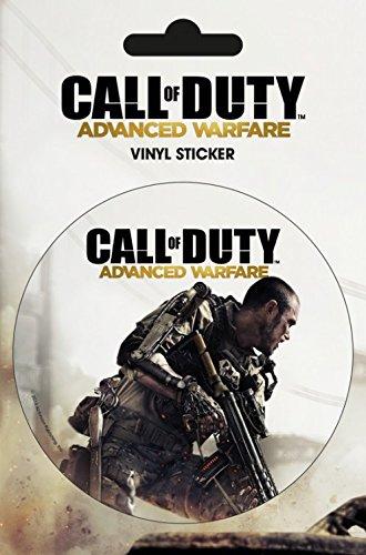 Set: Call Of Duty, Advanced Warfare, Cover Poster-Sticker Tattoo Aufkleber (15x10 cm) Inklusive 1x 1art1® Überraschungs-Sticker