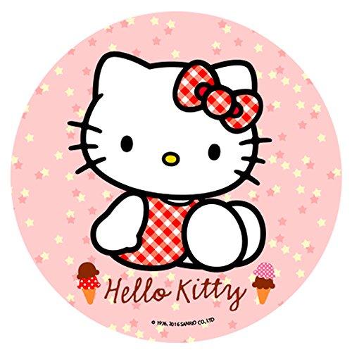 Disque en sucre Hello Kitty