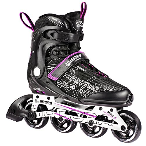 frozen inliner HUDORA Inliner Inline-Skates RX-23 - Gr. 43, schwarz/lila - 29043