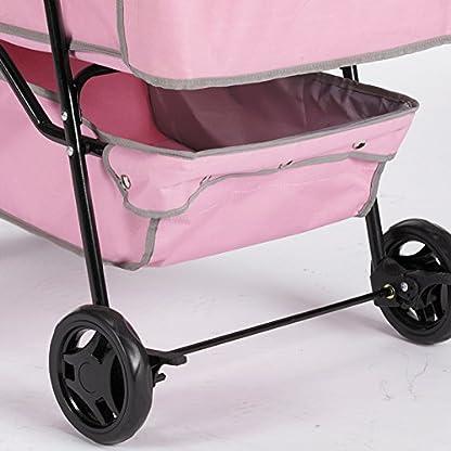 Guardian Gear Promenade Pet Stroller, Pink 5