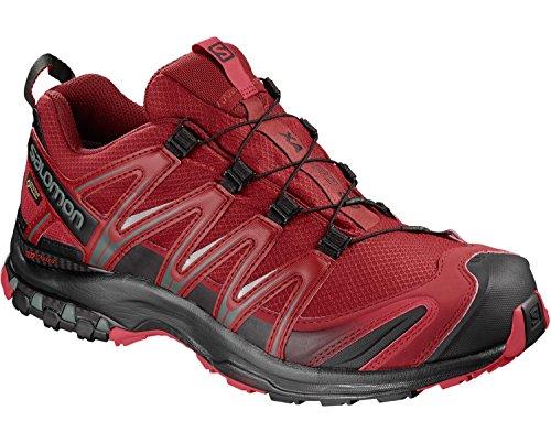 Homme Speedcross Vario 2 GTX Chaussures de Course à Pied et Trail Running - Rouge (Fiery Red/Barbados Cherry/Magnet), Pointure: 47 1/3Salomon