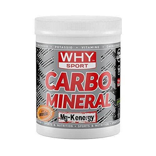 Why sport carbo mineral- integratore di carboidrati e sali minerali (arancia)