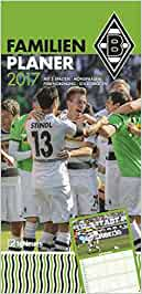 Borussia Mönchengladbach 2017 – Fankalender, Trikotkalender, Fußballkalender – 34 x 42 cm