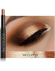 Favourall focallure doré or fard stylo ombre crème a paupiere pailleté eye shadow pencil,Copper