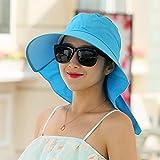 LKMNJ La Sra. Sombreros sombrero Cool Cap Outdoor Riding Hat cara negra son código ,Oo