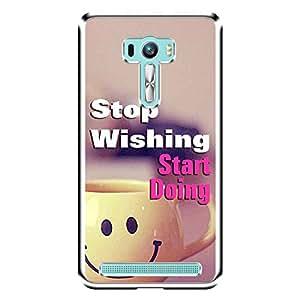 "MOBO MONKEY Designer Printed 2D Transparent Hard Back Case Cover for ""Asus Zenfone 2 Laser ZE550KL"" - Premium Quality Ultra Slim & Tough Protective Mobile Phone Case & Cover"