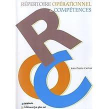 Répertoire opérationnel de compétences