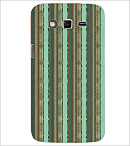 SAMSUNG GALAXY GRAND 2 LINES PATTERN Designer Back Cover Case By PRINTSWAG