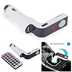 clasificados en internet: Internet Car MP3 Player Transmisor FM modulador USB Dual Que Carga SD MMC