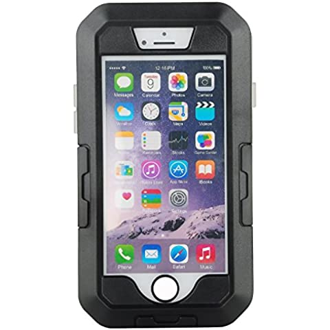 Julyfox 5-in-1 Motorcycle/Bicycle Bracket Handlebar Mount Holder Arm Band Protective Waterproof Phone Case For iPhone 7 Plus