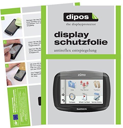Garmin zumo 340 LM Schutzfolie - 3x dipos Displayschutzfolie Folie matt