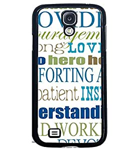 Printvisa Multiple Quotes And Lessons Back Case Cover for Samsung Galaxy S4::Samsung Galaxy S4 i9500