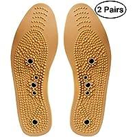 SUPVOX Magnetische Einlegesohlen Orthopädische Massage Druckpunkte Akupressur Einlegesohlen Größe 35-40 2 Paar preisvergleich bei billige-tabletten.eu