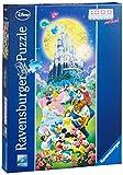 Ravensburger 15056 - Disney Castle, 1000 Teile Panorama Puzzle