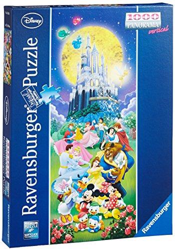 Ravensburger 15056 - Disney Castle, 1000 Teile Panorama Puzzle (Walt Disney Schloss)
