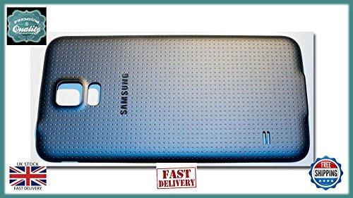 Samsung Galaxy S5 G900F Rear Back Battery Door Cover Panel Black (Door Back Batterie Cover)