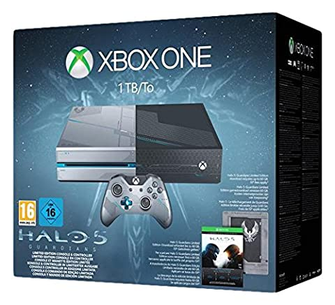 Pack Console Xbox One 1TB/To + Halo 5 :
