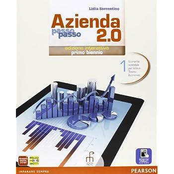 Azienda Passo Passo 2.0. Con E-Book. Con Espansione Online. Per Il Biennio Delle Scuole Superiori: 1