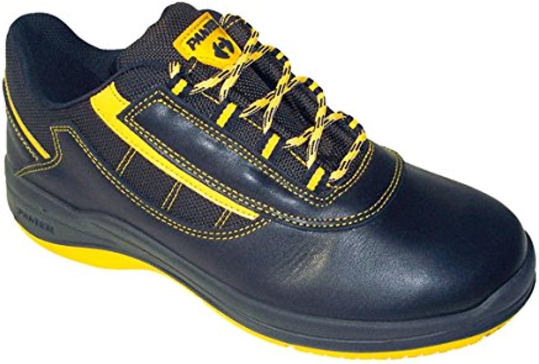 Panter M129928 - Zapato seguridad ozone oxigeno negro talla 45