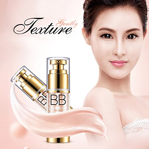 Oshide 35g New Cushion BB Cream Liquid Concealer Foundation Nude Make Up - 3 Colors For Choose (Ivory)