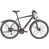 Bergamont Helix 4 EQ Cross Trekking Fahrrad grau/schwarz/grün 2019: Größe: 48cm (164-170cm)
