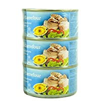 M Carrefour Tuna Chunk In Oil - 3 x 185 gm