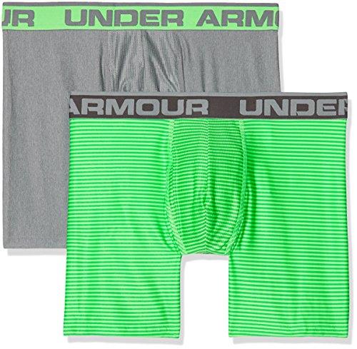 Under Armour Herren Original 6 in 2 Pack Novlty Unterhose Arena Green
